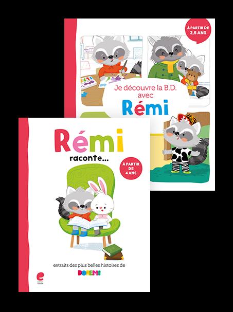 Le plaisir de lire avec Rémi